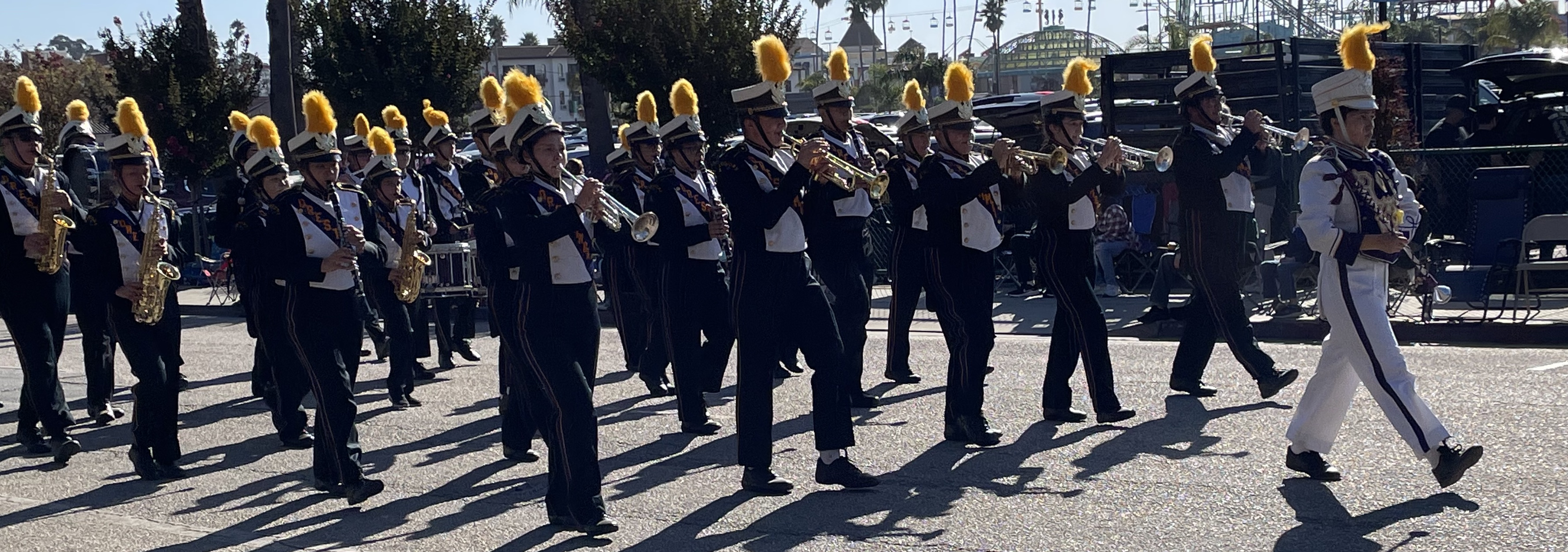 Orestimba Warrior marching Band