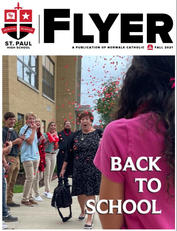 Flyer Pride magazine cover