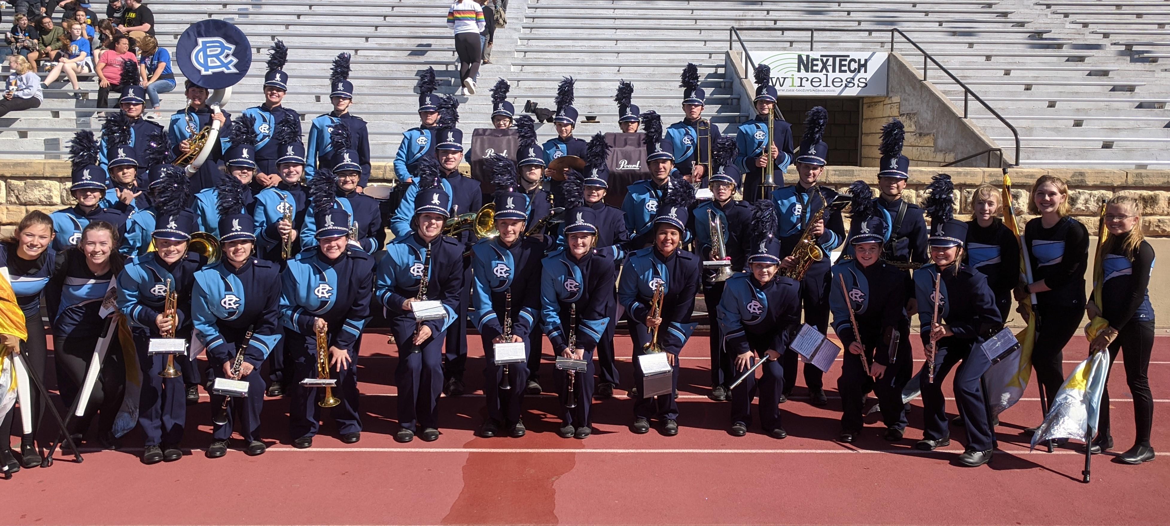 HS Band at FHSU