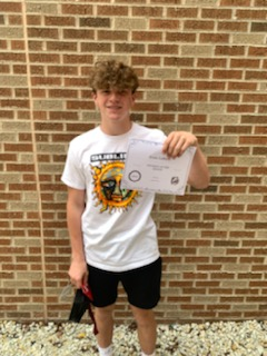 Evan LaBelle History Student of the Month