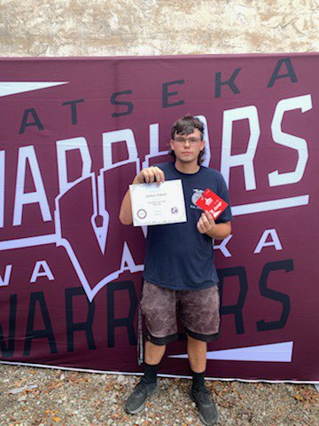 Zackery Tobeck-Health/PE Student of the Month