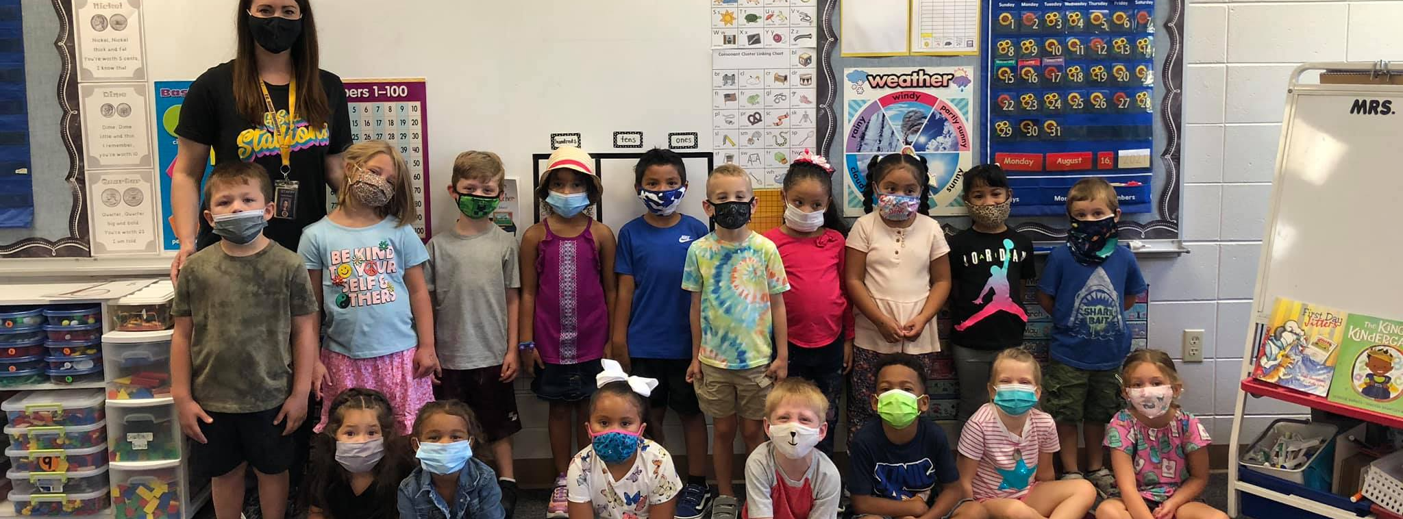 Mrs. Howard's Kindergarteners