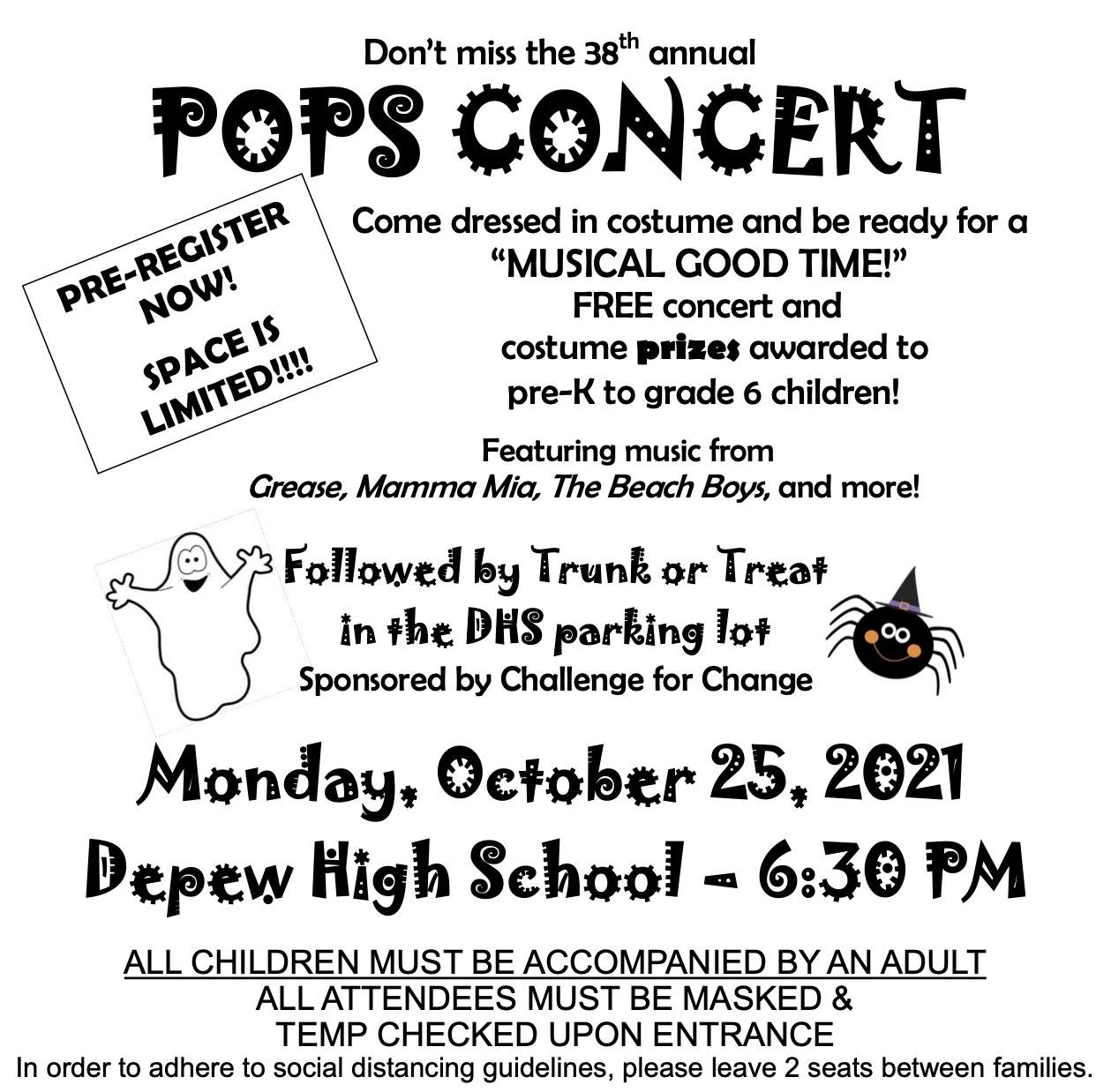 Pops Concert Poster