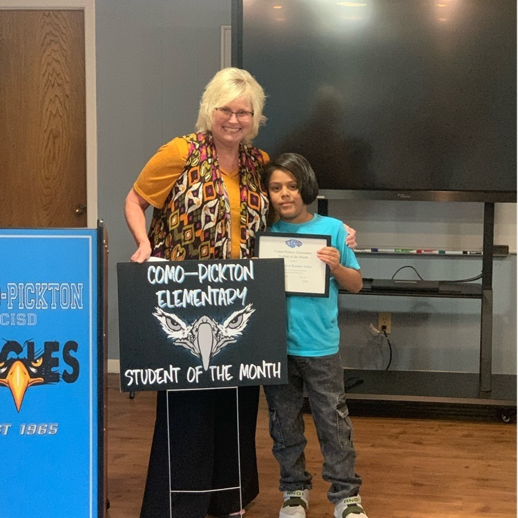 Elementary Student of the Month