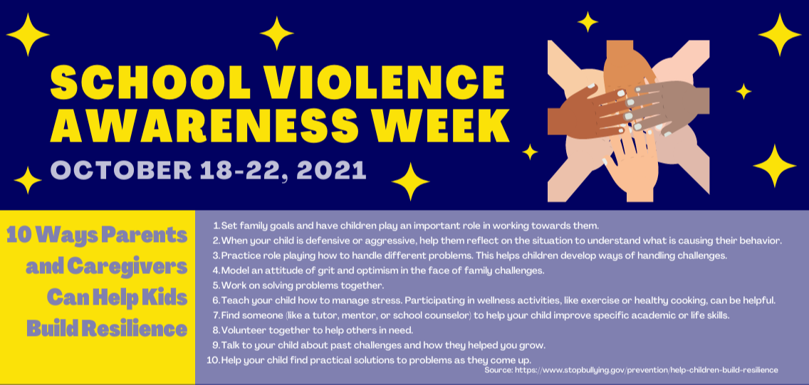 School Violence Awareness Week