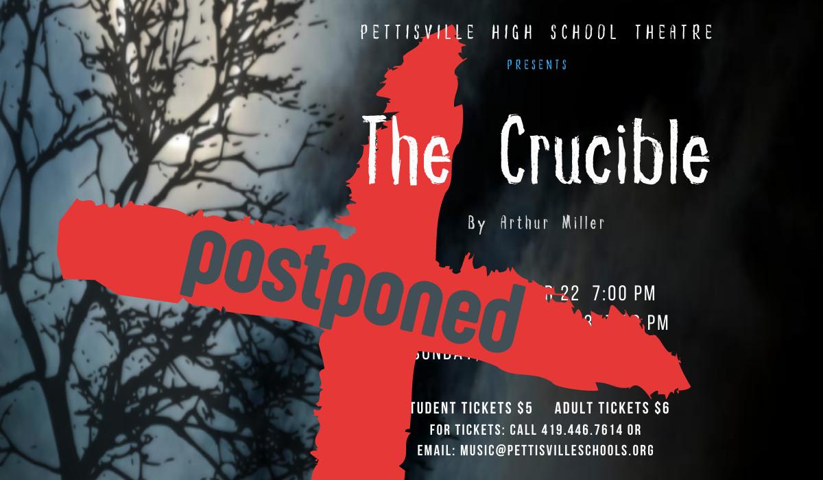 Crucible - postponed