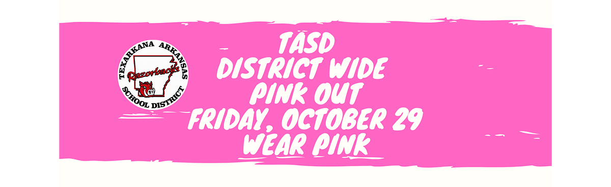 TASD Pink Out Oct. 29