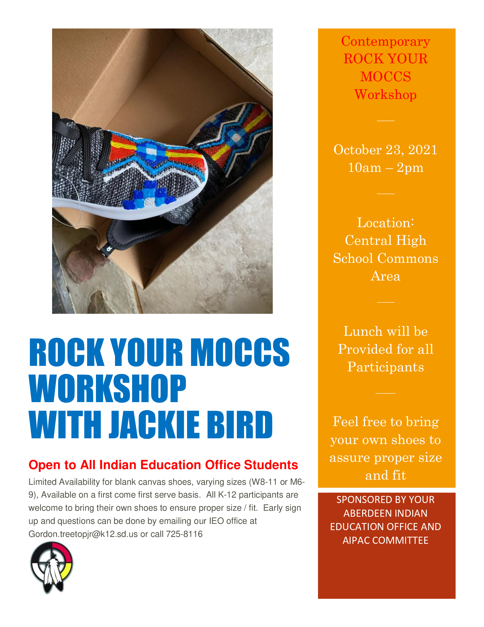 Roc Your Moccs with Jackie Bird
