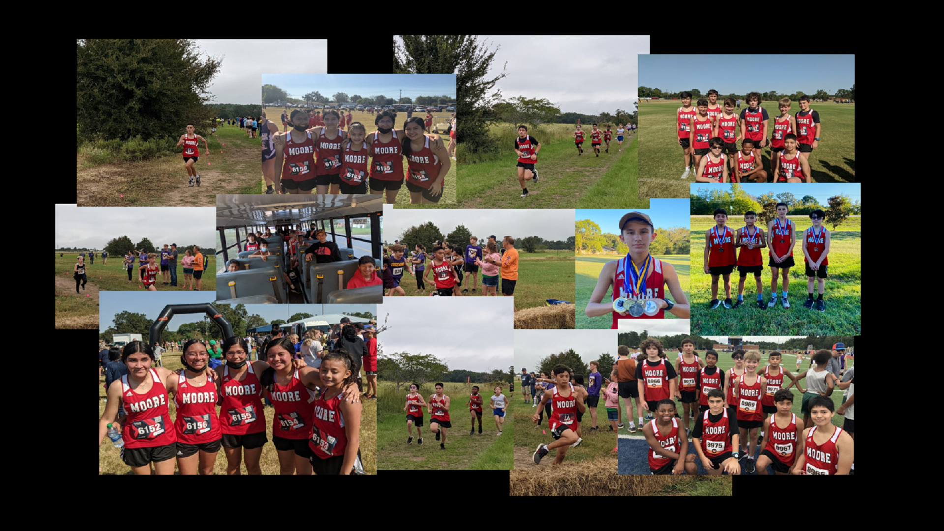 Cross Country Team Pictures