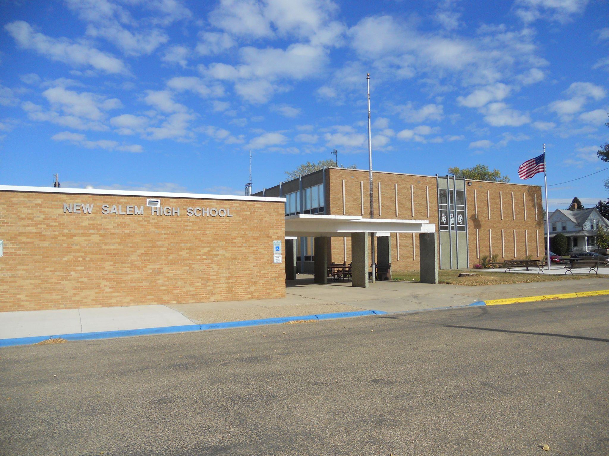 New Salem high school campus