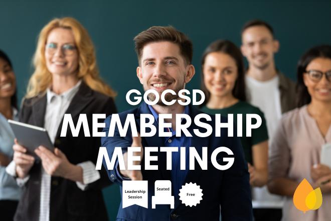 GOCSD Membership Meeting