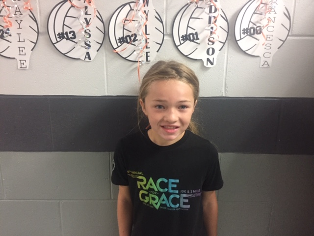 Elementary Student of the Week Skylar Schmitz