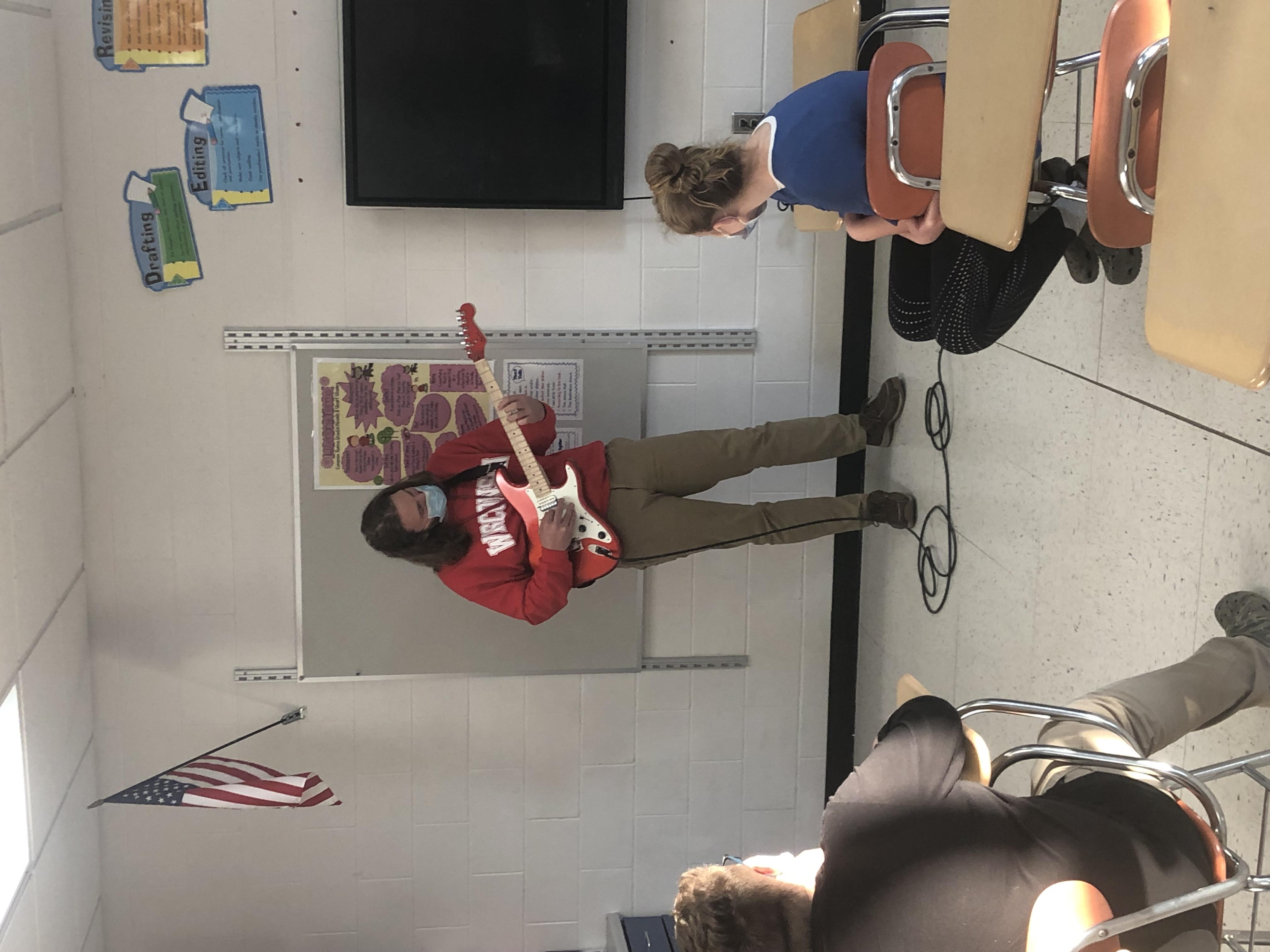 Way to Rock it Mr. Schmidt!