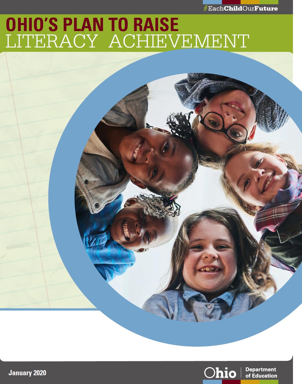 Ohio literacy plan with children faces