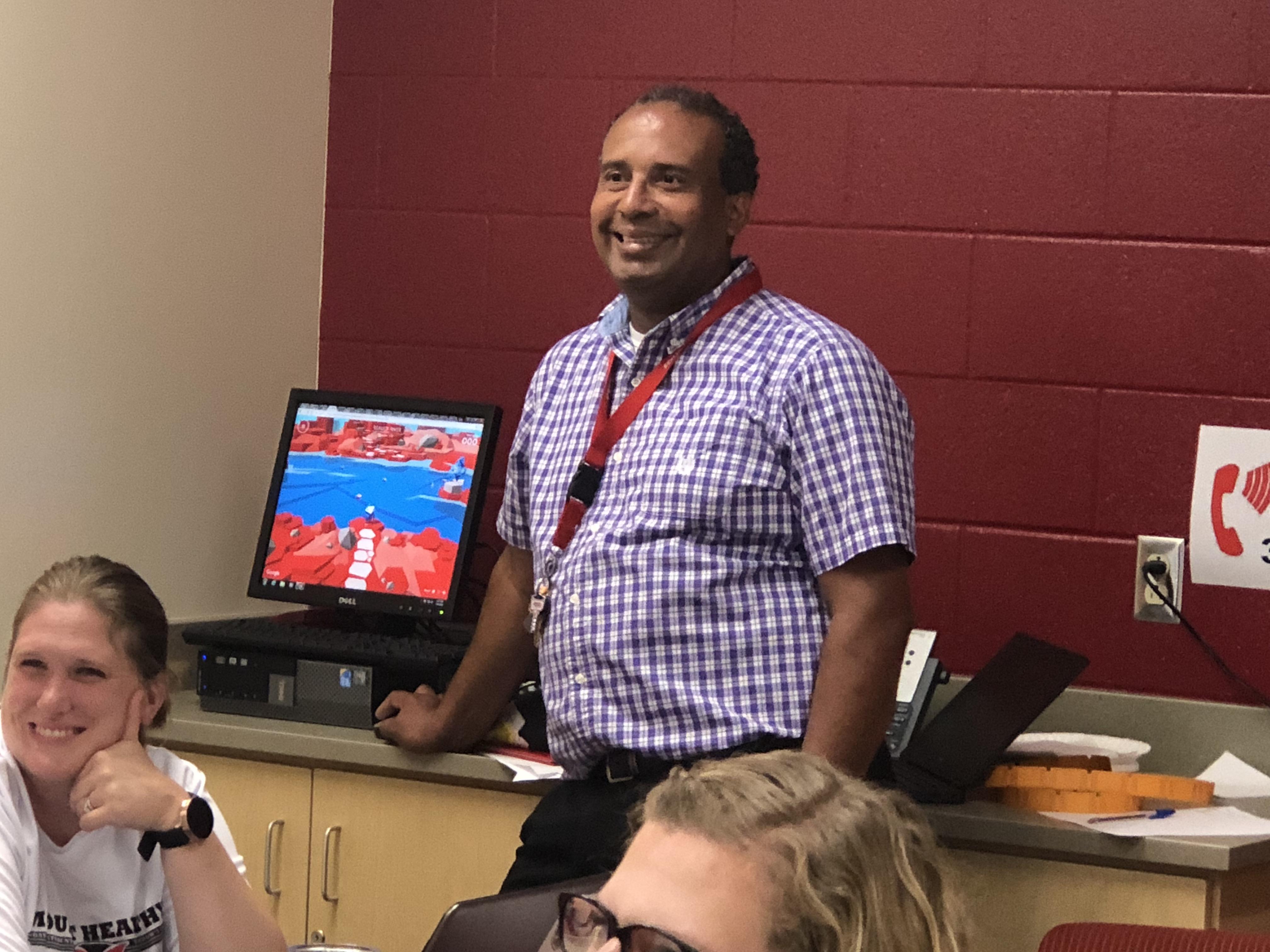 M Burdett teaching PD