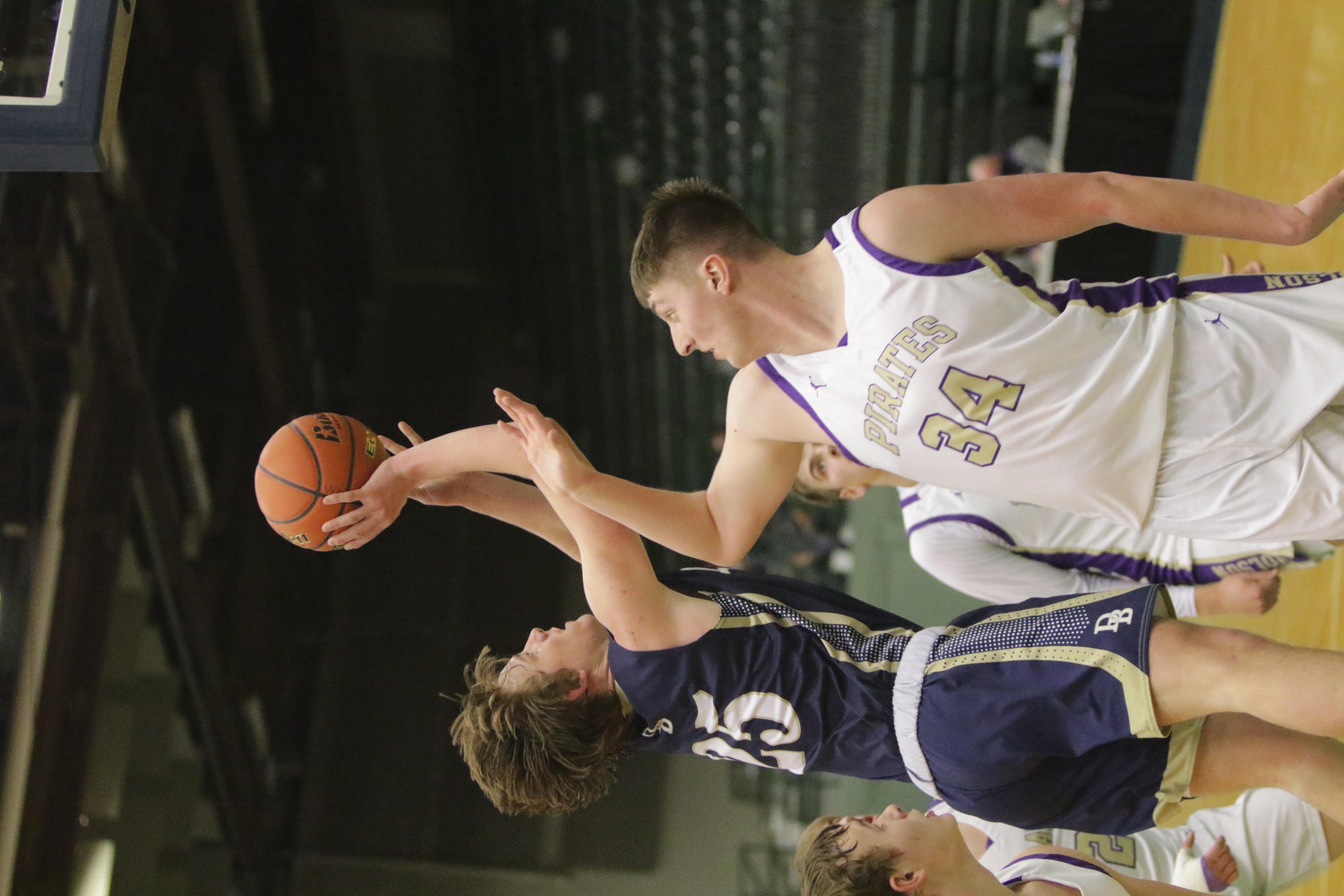 Connor Curnow Shoots over Polson