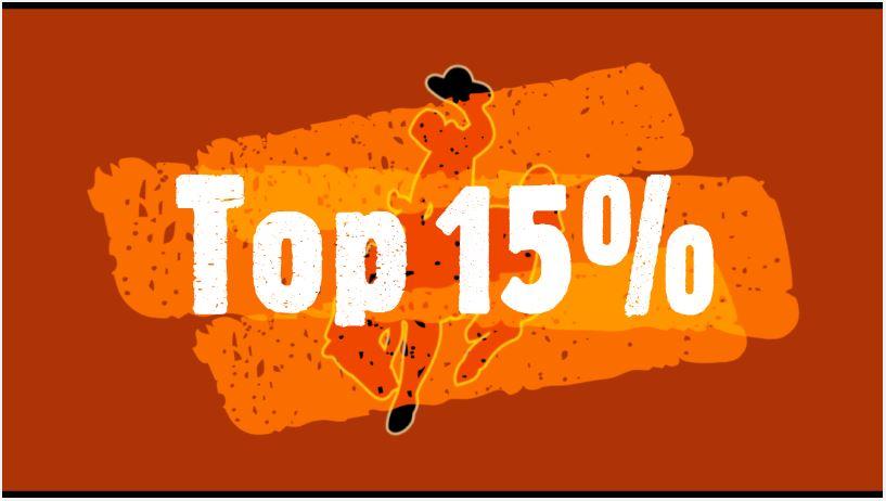 Top 15%
