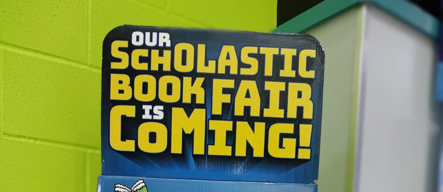 Book Fair is coming to RHE!