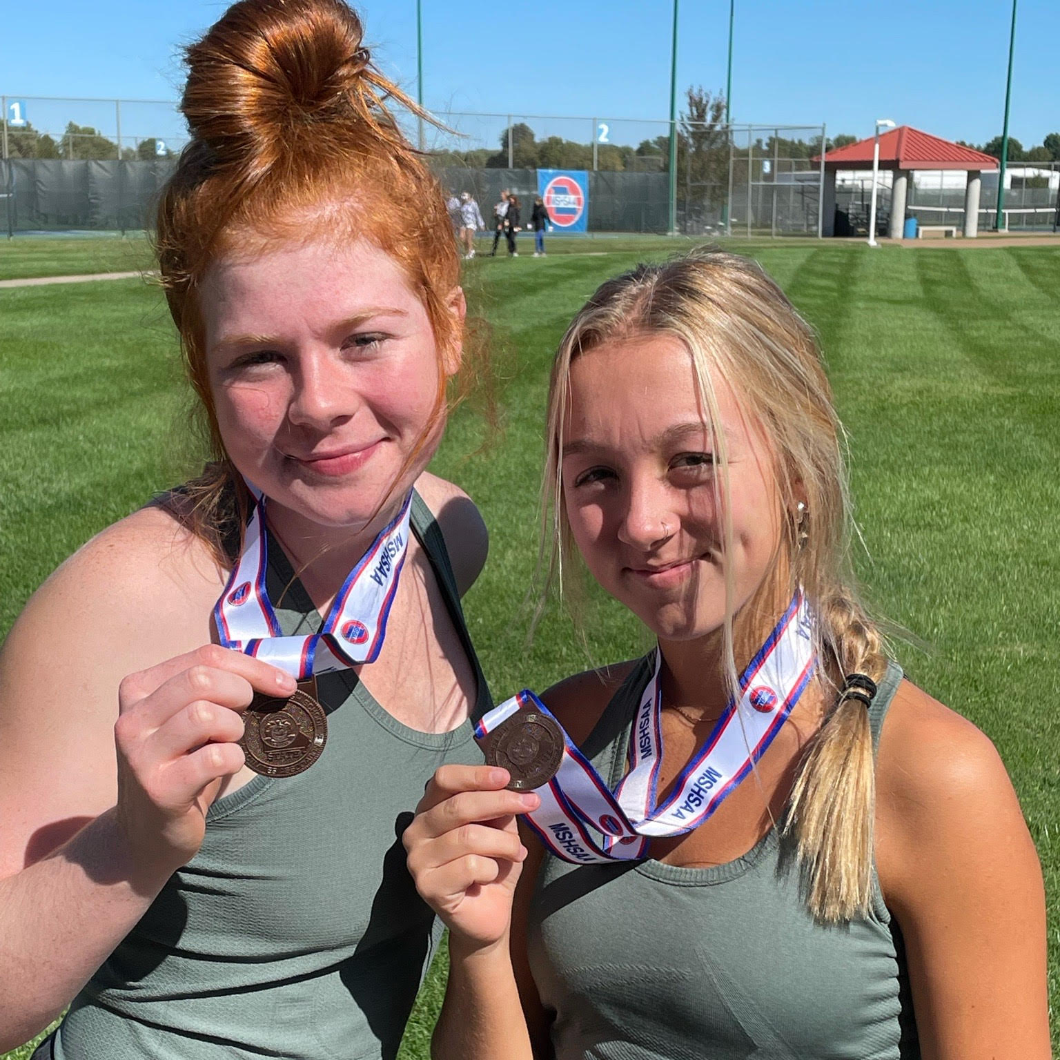 Girls Tennis Doubles 8th at State