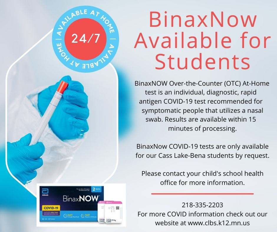 COVID testing available for students