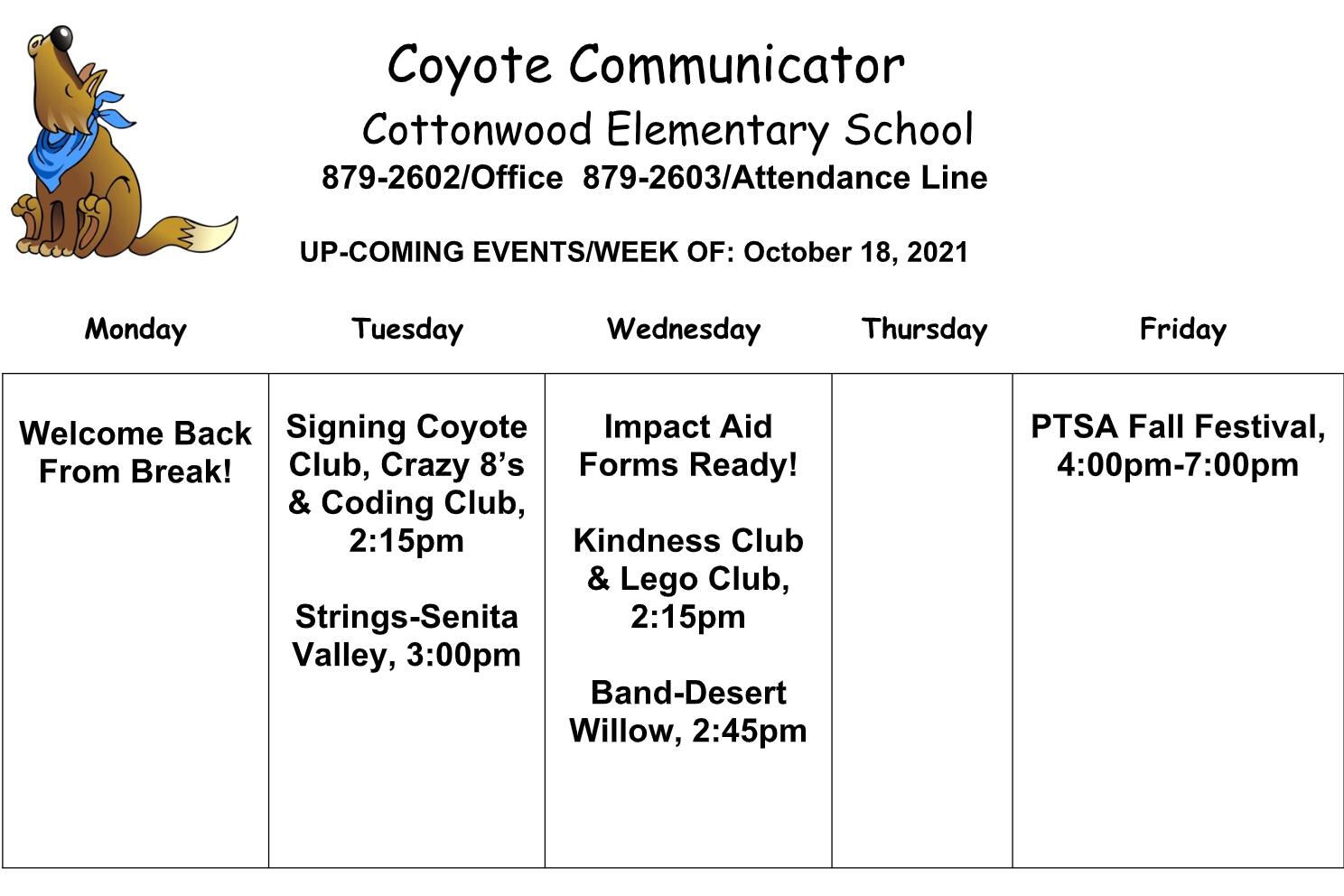 Coyote Communicator