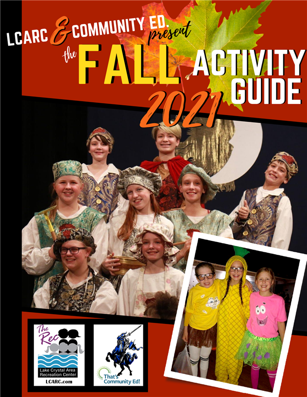 Click here to view the 2021 Fall Activity Guide