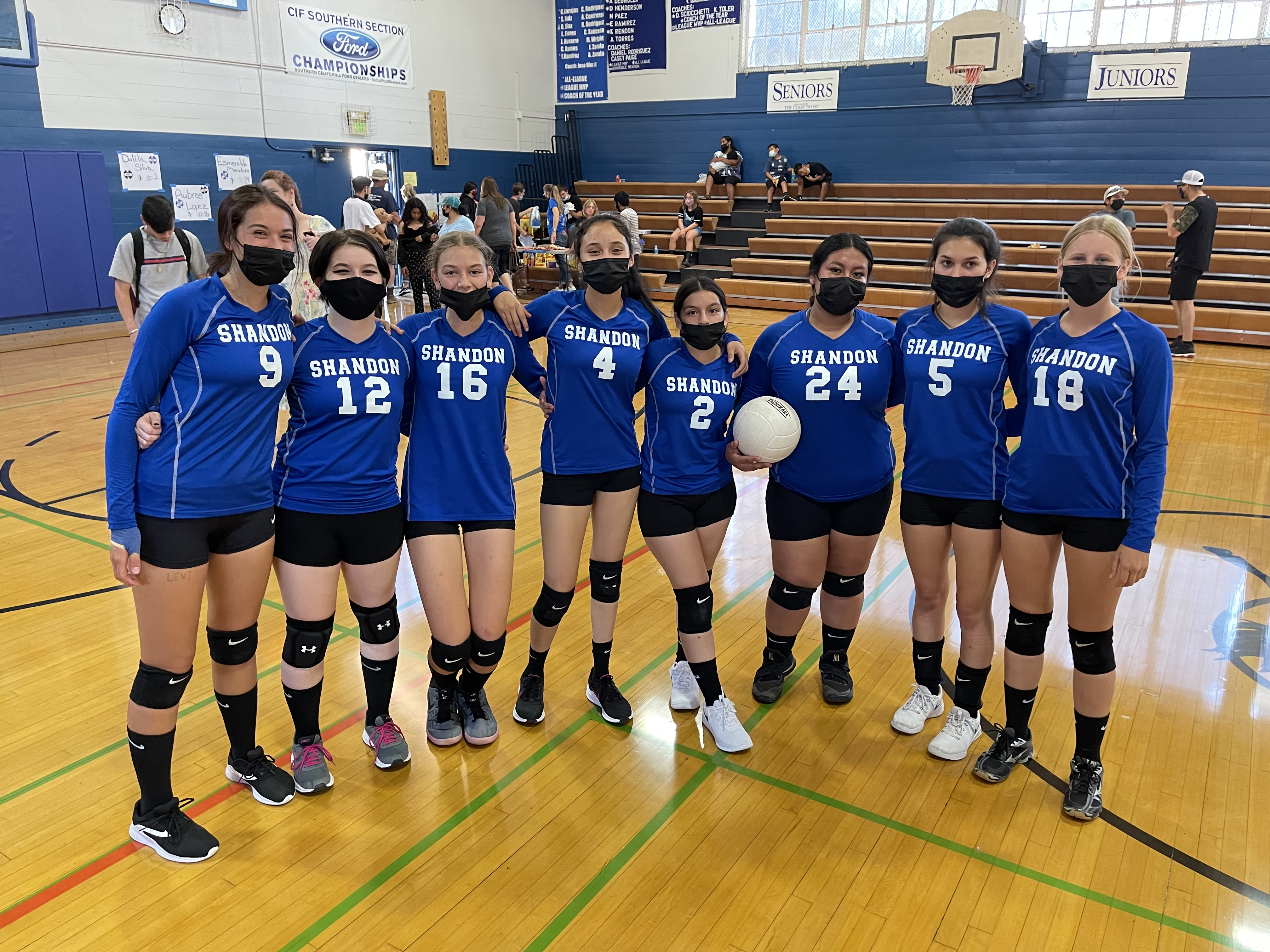The Shandon High School Varsity Volleyball team. Thank you for your commitment and dedication this season! Special shout out to our Senior Players, we will miss you! Go Lady Outlaws!