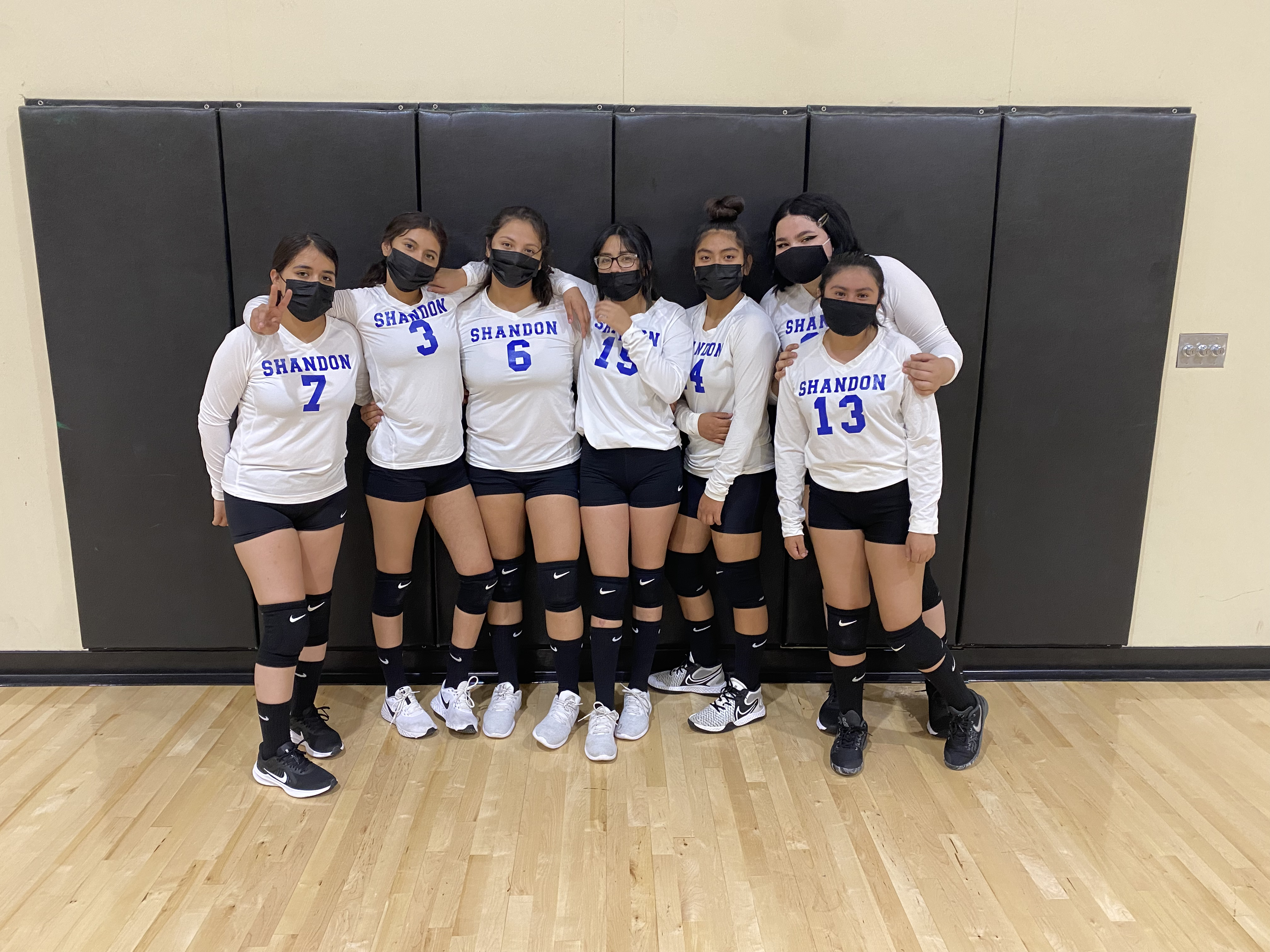 Shandon High School Junior Varsity volleyball team. Thank you for your hard work this season! We can't wait to see your progress next season! Go Outlaws!